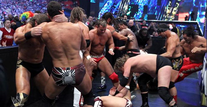 Show #63 ATTITUDE! - Página 2 Full+story+%2526+photo+%2526+result+-+April+3%252C+2011+United+States+Championship+Lumberjack+Match+becomes+a+non-title+Battle+Royal+WWE+WrestleMania+XXVII+27+-+3-4-2011+-+5