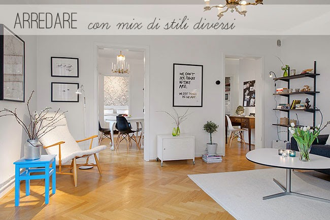 Arredare con mix di stili diversi home shabby home for Stili di arredamento