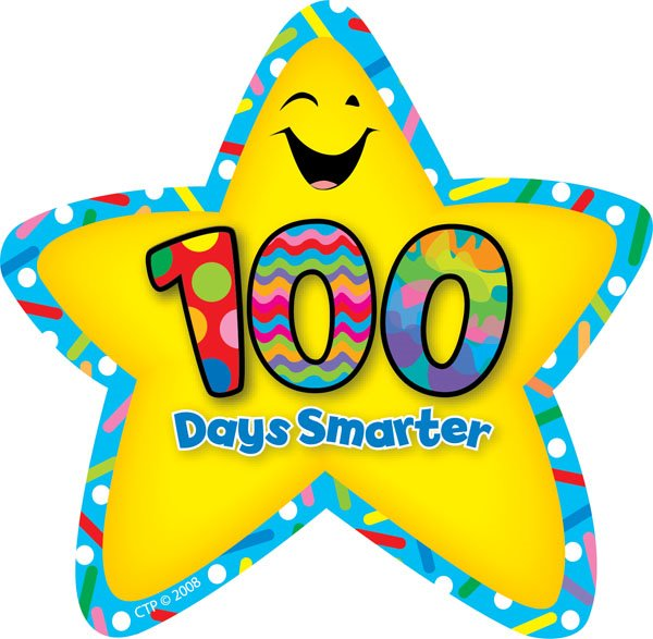 The 100th day of school is February 12th.