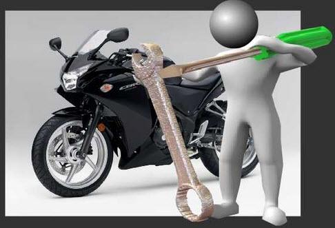 Tips merawat sepeda motor agar tetap awet