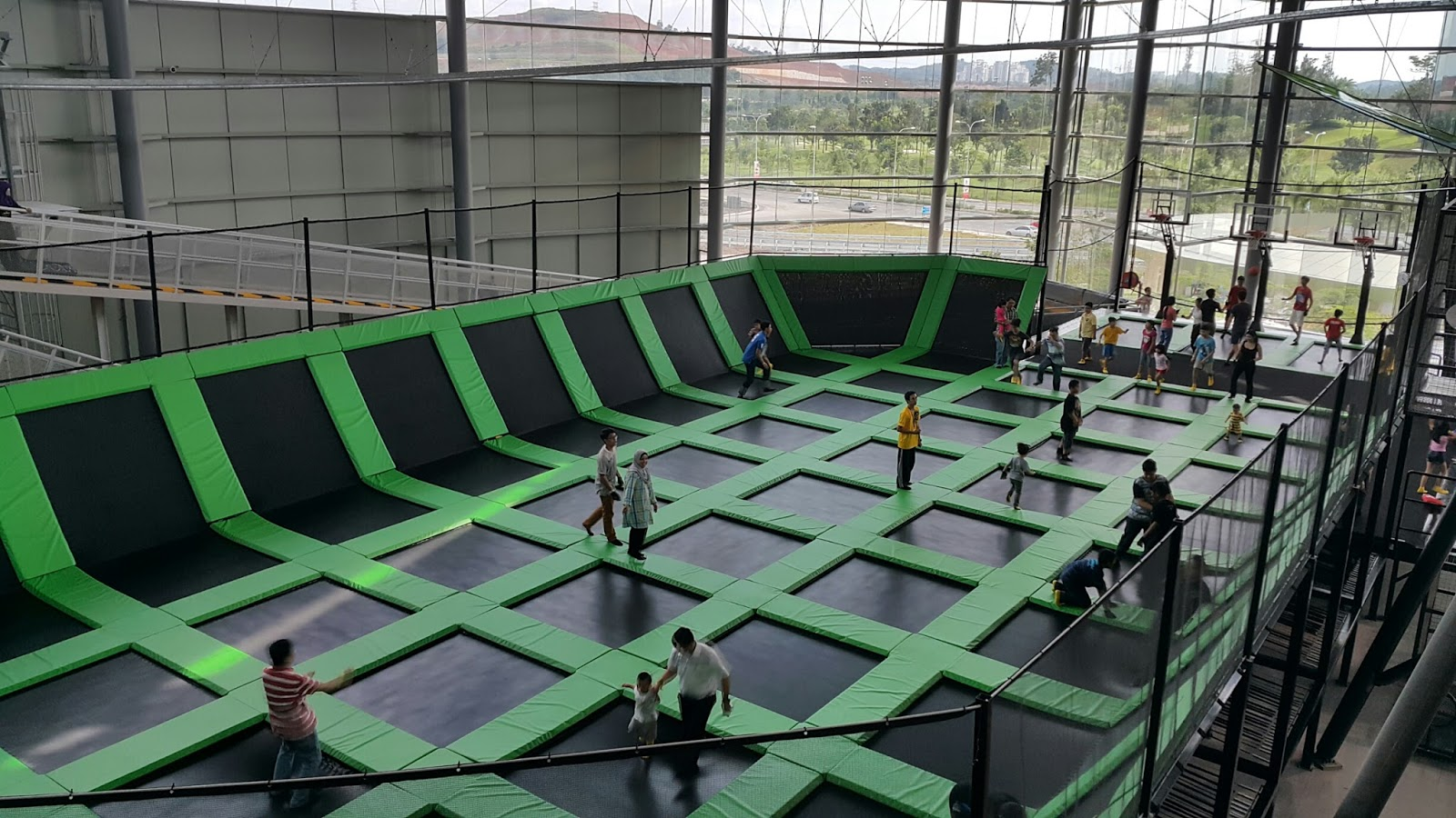 Trampoline/Launch Pad @ District 21