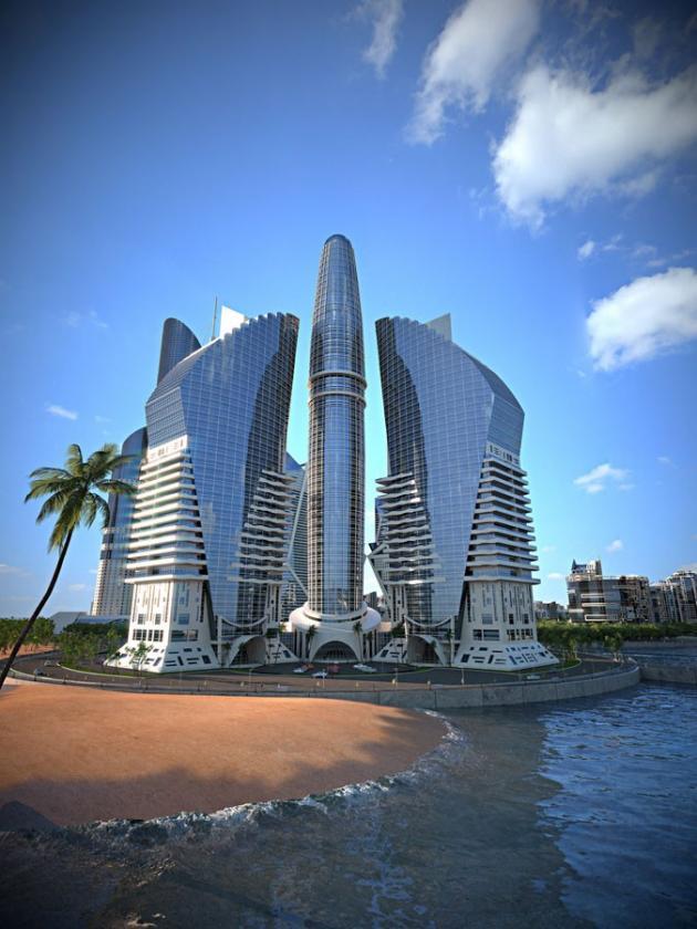 Azerbaijan Tower Picture