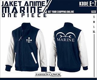 Jaket Anime One Piece - Marine