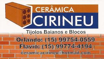 CERÂMICA CIRINEU Tijolos Baianos e Blocos