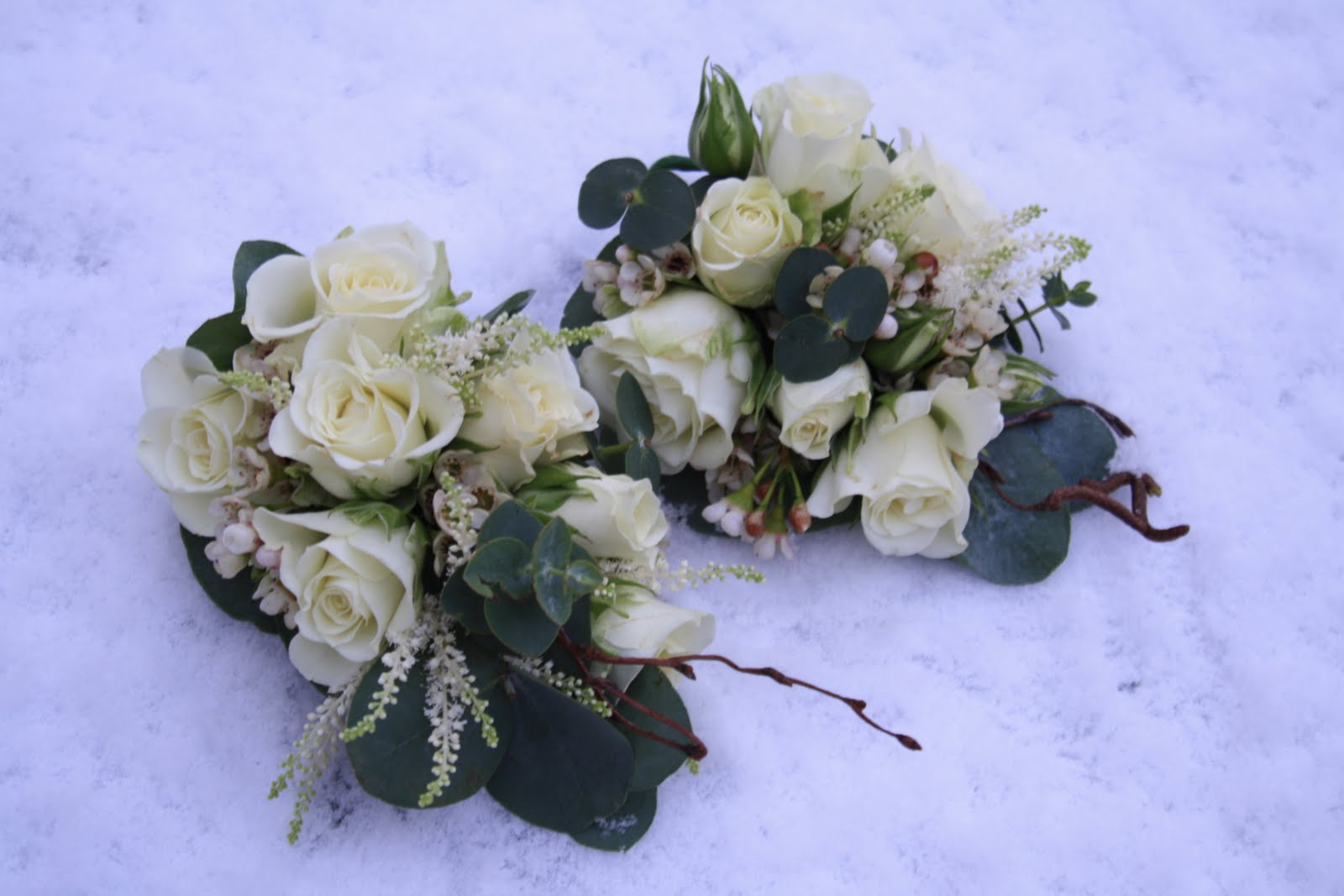 Wedding Flowers And Corsages : The blossom tree flower corsages