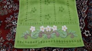 panç desenli havlular
