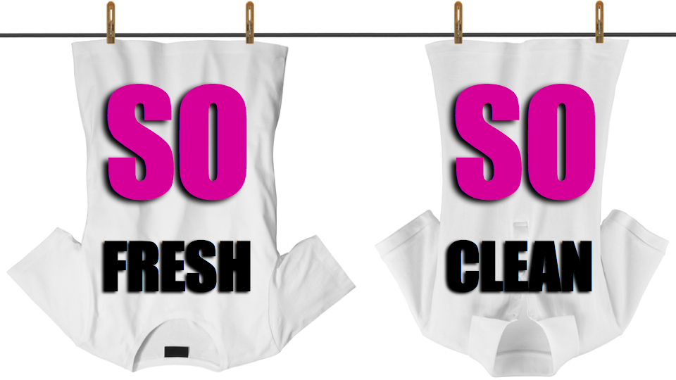 clean clothes without washed