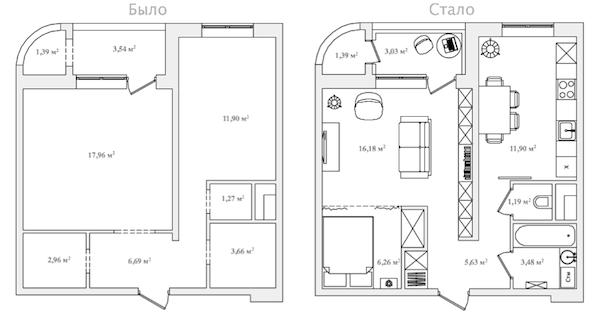 Серия И-155- планировка квартир Всё о серии
