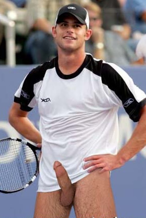 from Clyde andy roddick dick slip