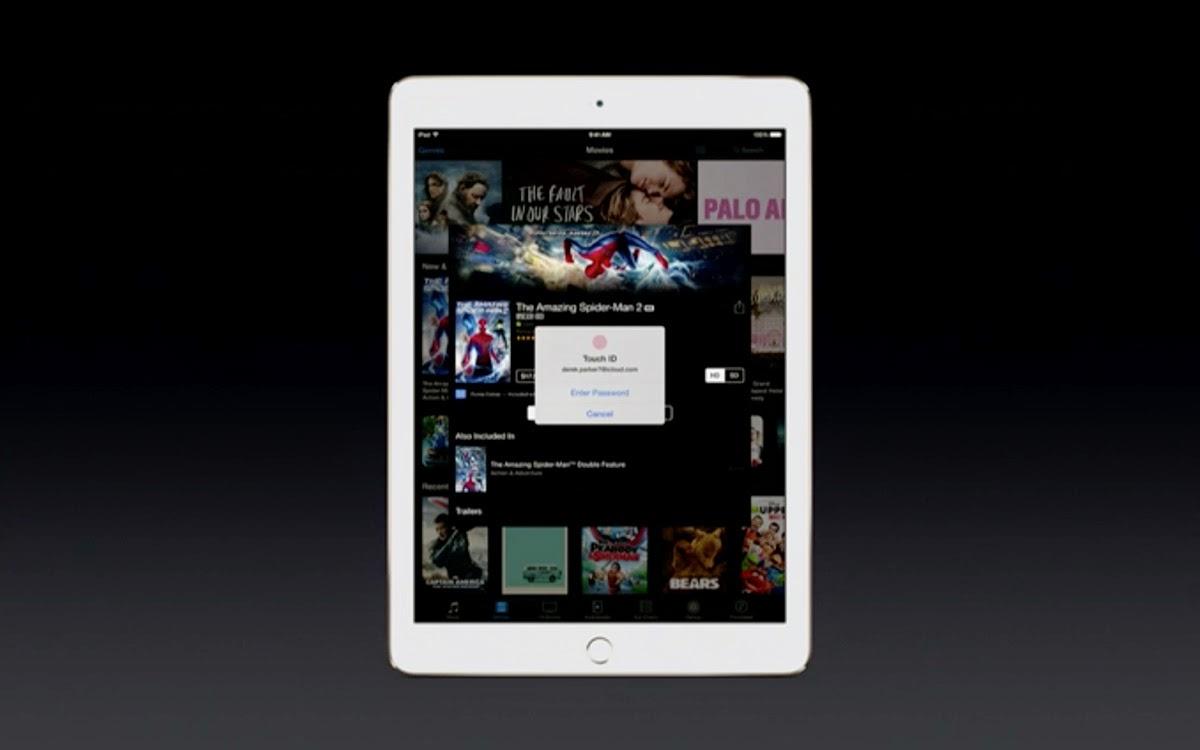 Sensore Touch ID anche su iPad, dopo l'iPhone.