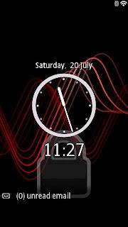 Digital Lock Screen Nokia
