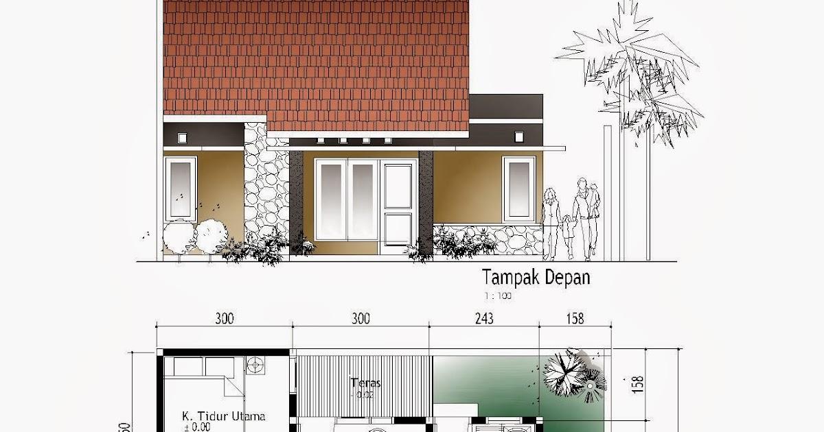 gambar desain rumah dan denah terbaru 2014 lengkap