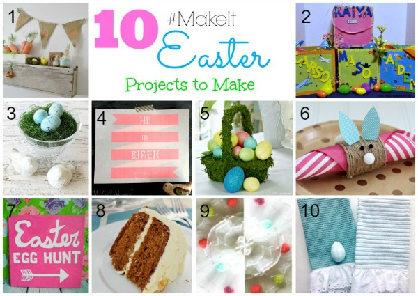 Easter Project Challenge DIY beautify