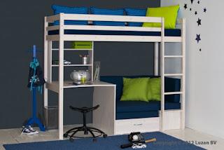 Tips voor een kleine kinderkamer deel 2 - Bed voor kleine jongen ...