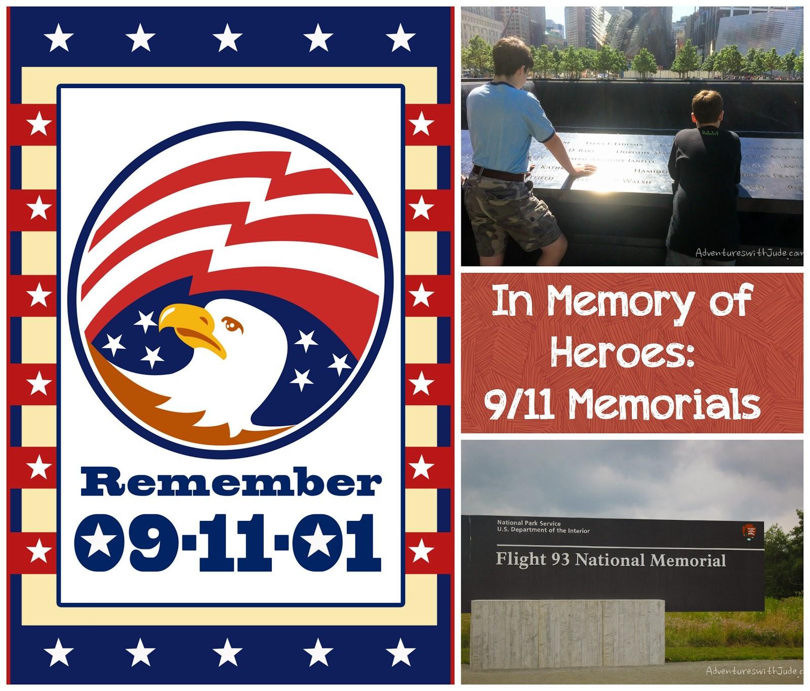 In Memory of Heroes: 9/11 Memorials