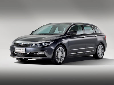 2013 Qoros 3 Estate Concept
