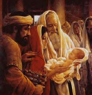 Yesus Kecil Dilihat Imam