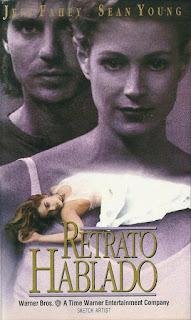 Portada del VHS de 'Retrato hablado'