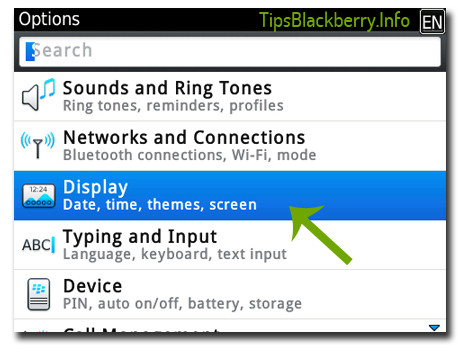 Trick Blackberry : Cara Mudah Ganti Font di Blackberry