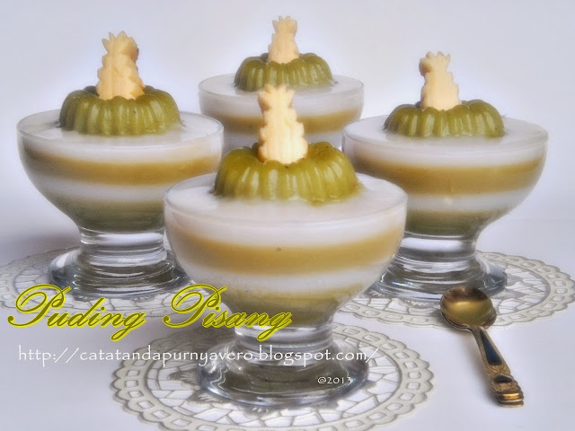 puding pisang
