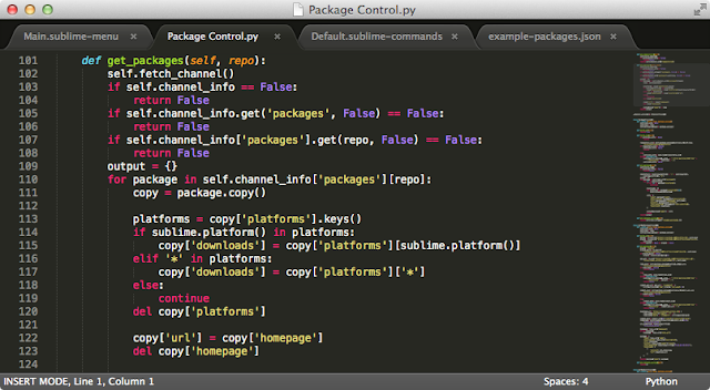 Sublime text Editor download
