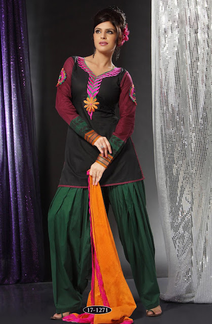 Patiala-Trouser-with-Short-Kurti