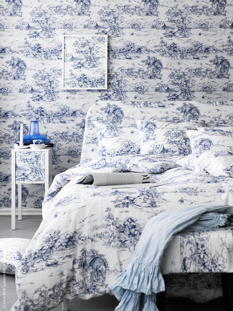 toile de jouy contempor neo vs cl sico ministry of deco. Black Bedroom Furniture Sets. Home Design Ideas