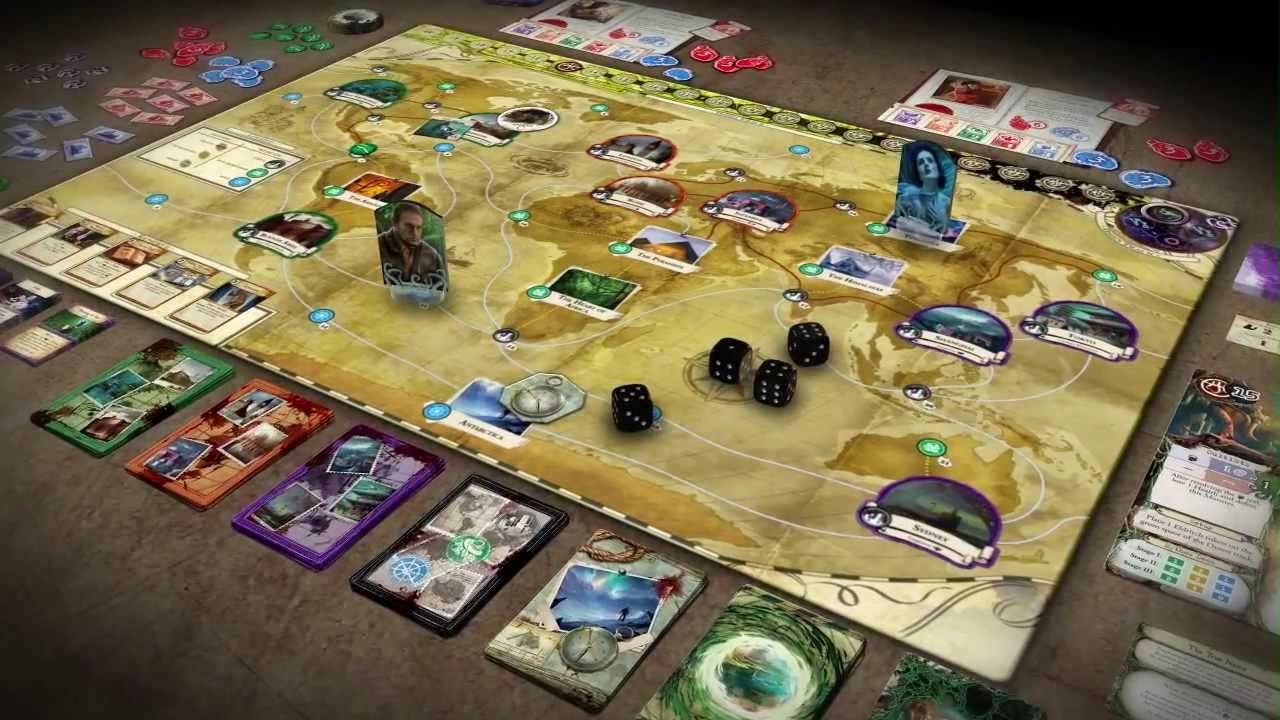 componentes eldritch horror