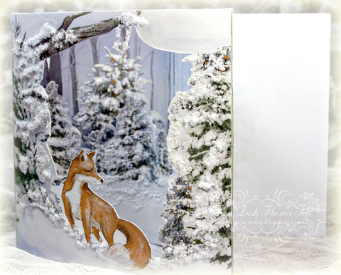 Flower Soft Winter Theatre Card Downloads