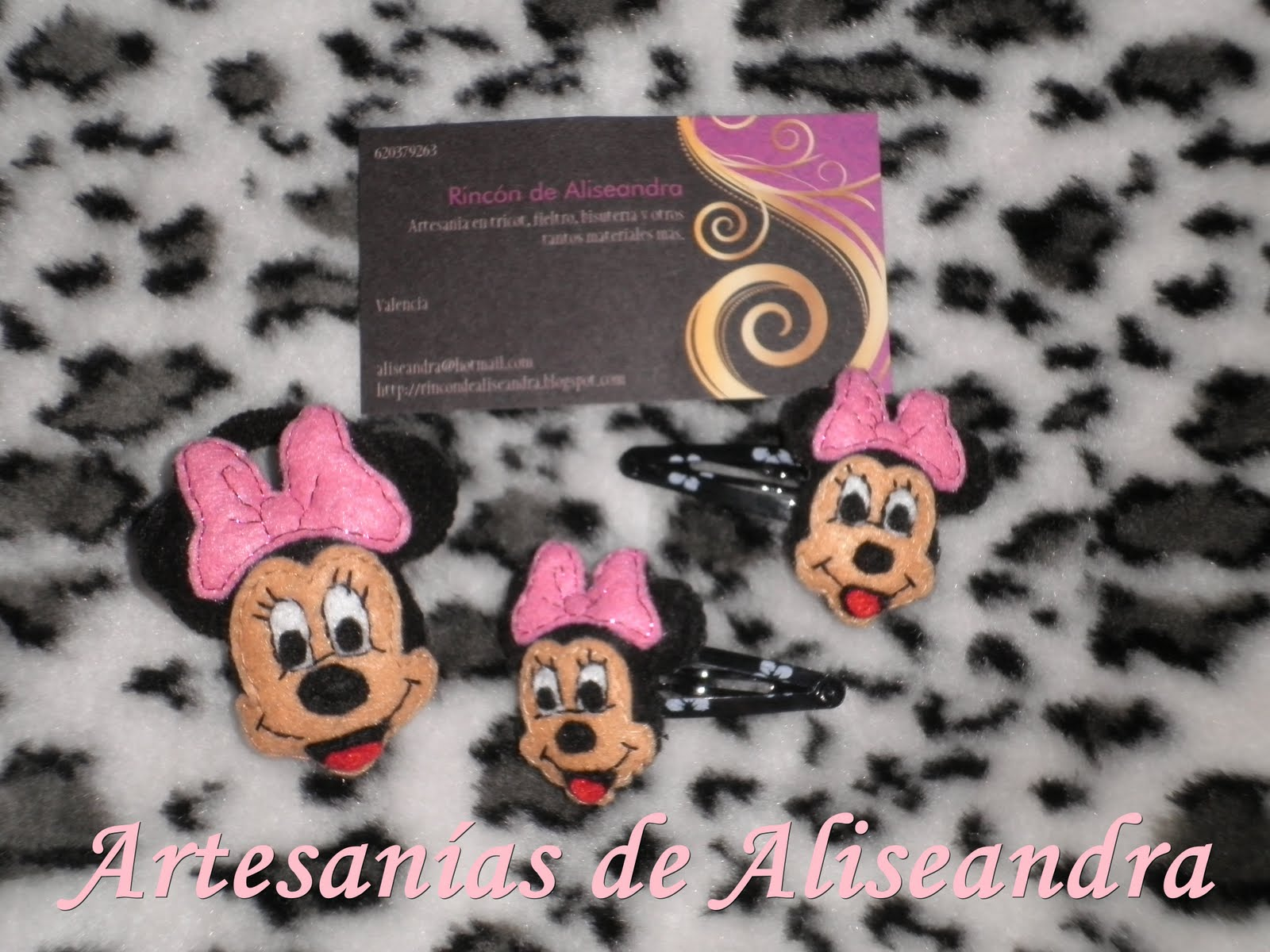 Minnie mouse archives manualidades con fieltro moldes y - Manualidades minnie mouse ...