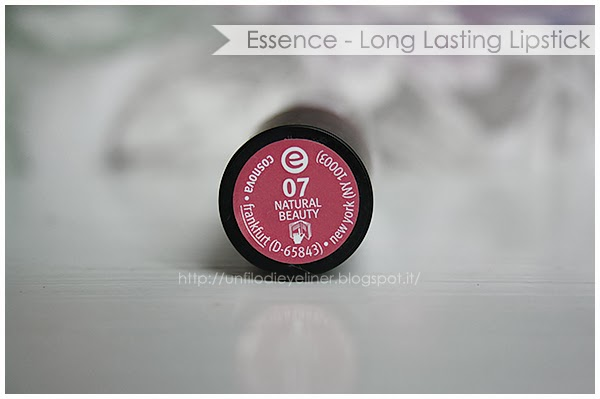 review long lasting lipstick essence 07 natural beauty