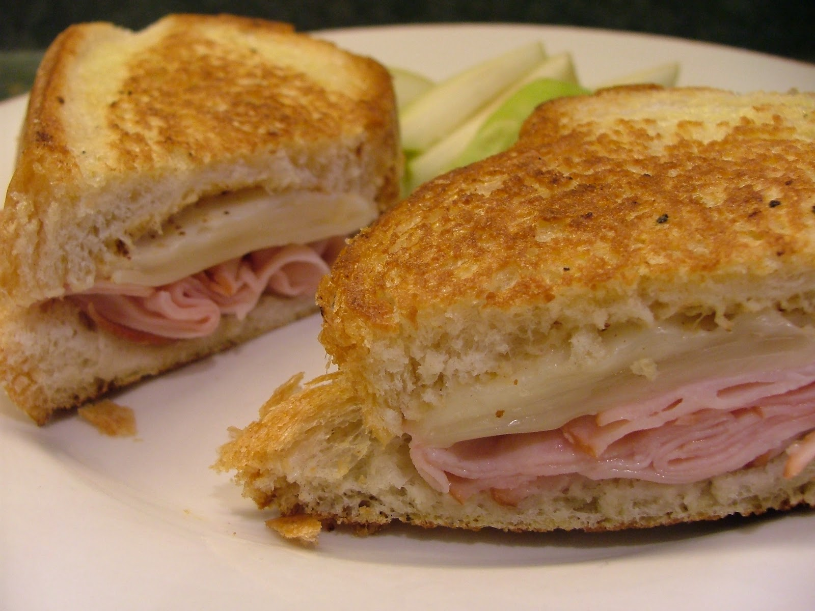 Grilled Ham and Swiss Cheese Sandwich and We Have a Winner for the ...