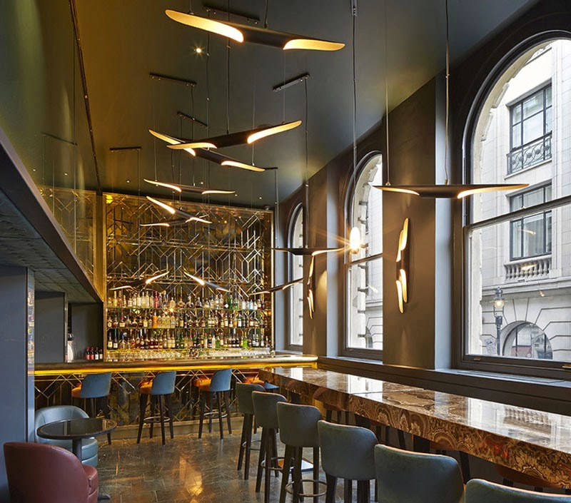 mejores diseños de interiores de bares y restaurantes del mundo, Christopher's Bar