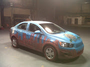 CHEVY Sonic . Urban Art