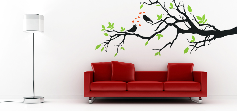 Modern Wall Decor Decals : Modern vinyl wall art decals stickers quotes