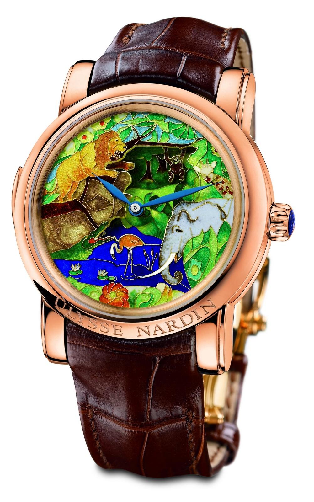 j 39 aime les montres la montre du jour ulysse nardin safari jaquemarts r p tition minutes. Black Bedroom Furniture Sets. Home Design Ideas