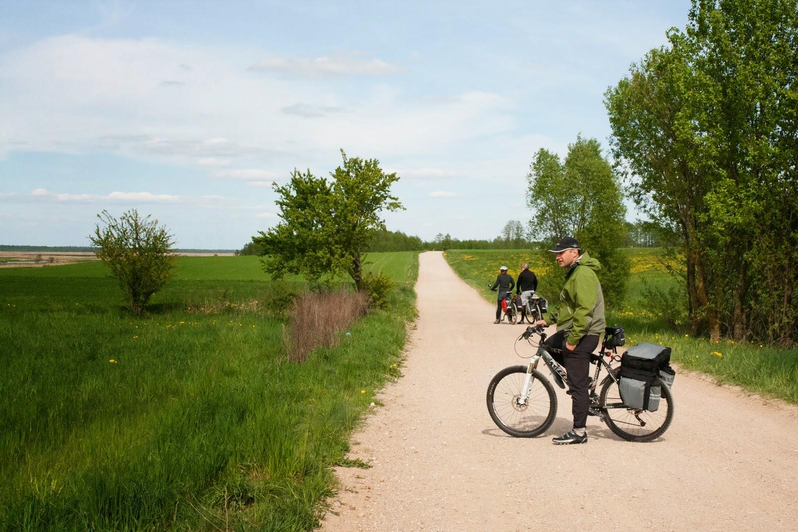 rowerem nad Biebrzą