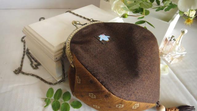 Сумочка с совой, летняя сумка  - подарок девушке, подарок дочке. Обратная сторона