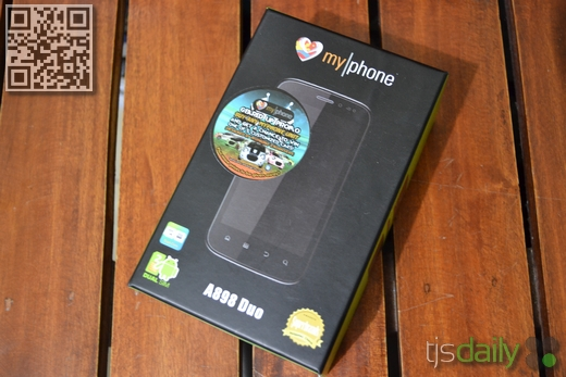 myphone a898 duo box