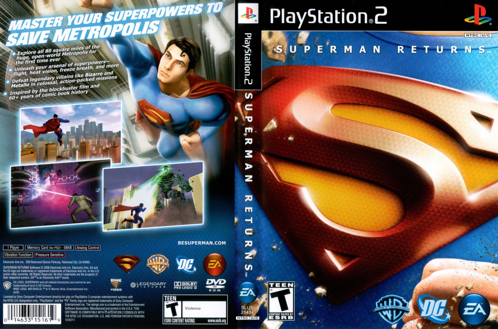 Superman Returns (video game)