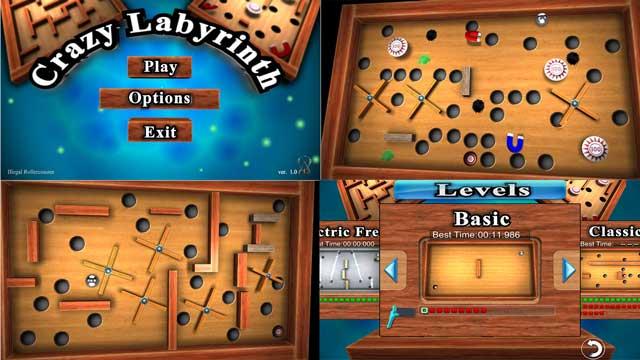 Crazy Labyrinth 3D apk screenshot