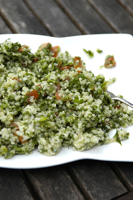best ever quinoa tabouli