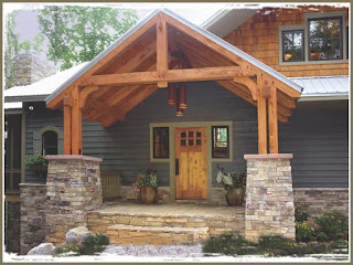 Luxury Timber Frame Rentals between Franklin and Highlands