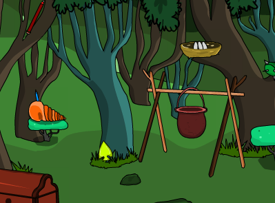SmileClicker Evergreen Forest Escape
