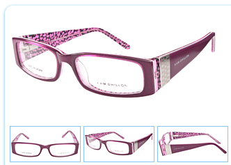 New Glasses – pretty in pink!