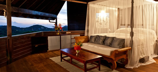 Bedroom with a View, Cap Estate, Saint Lucia