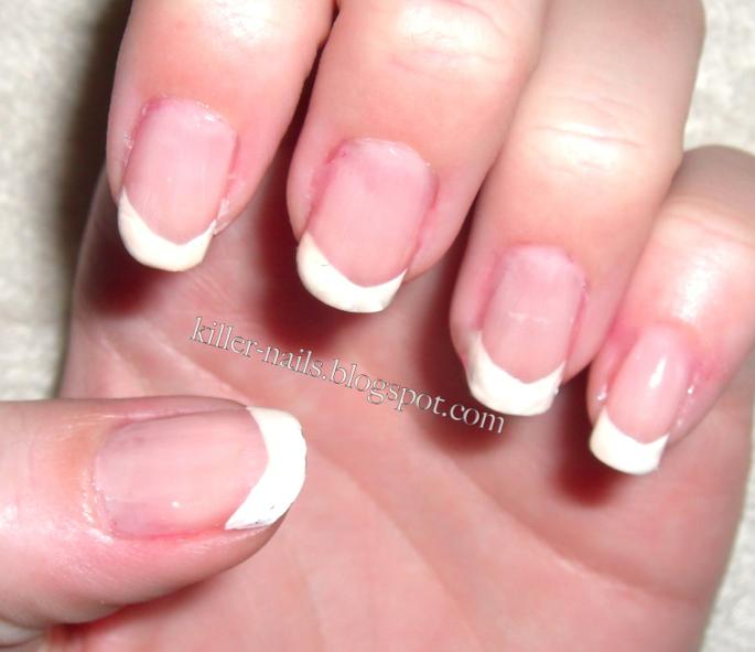 Cotton Candy Nail Polish La Carte: Killer Nails: Cheetah French Manicure