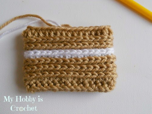 My Hobby Is Crochet How To Turn Regular Hdc Stitches Into Knit