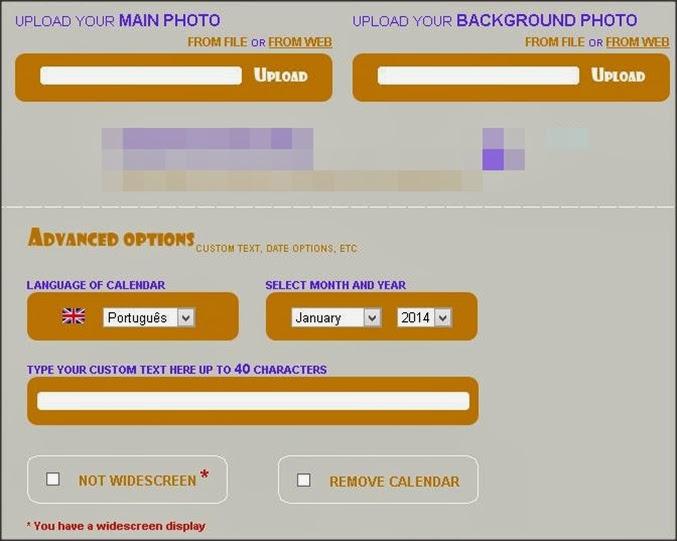 configurar calendário online