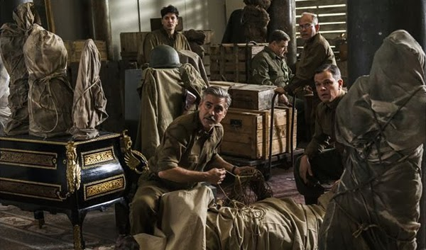 "Crítica de ""Monuments Men"" de George Clooney"